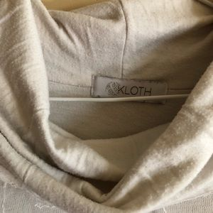 Anthropologie Sweaters - & Kloth Distressed White Sweater Blouse